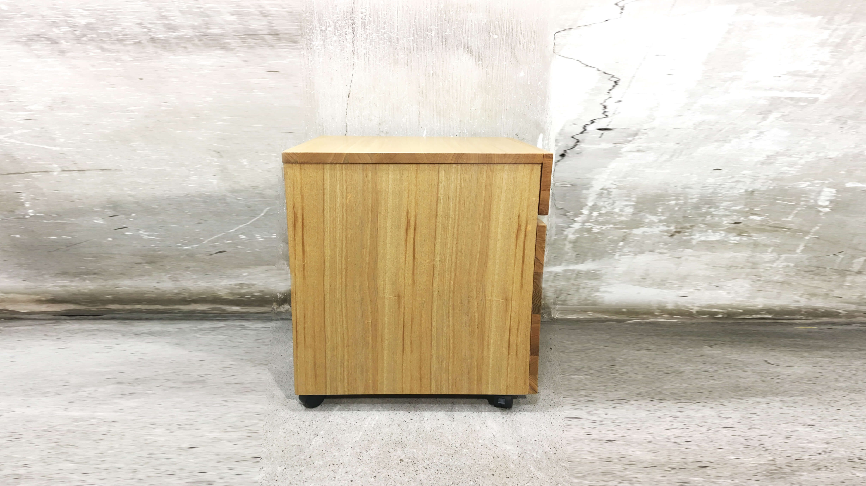 muji ash wood desk cabinet/無印良品 タモ材 デスクキャビネット
