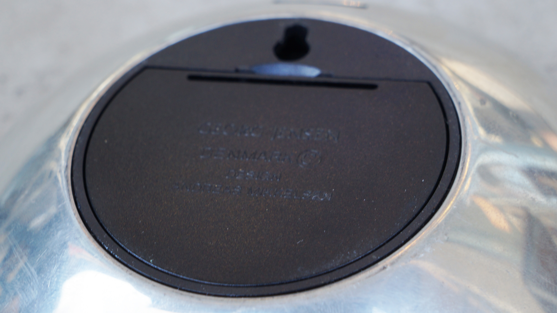 GEORG JENSEN VENUS CLOCK desgin by ANDREAS MIKKELSEN / ジョージジェンセン 置時計 アンドレアミケルセン