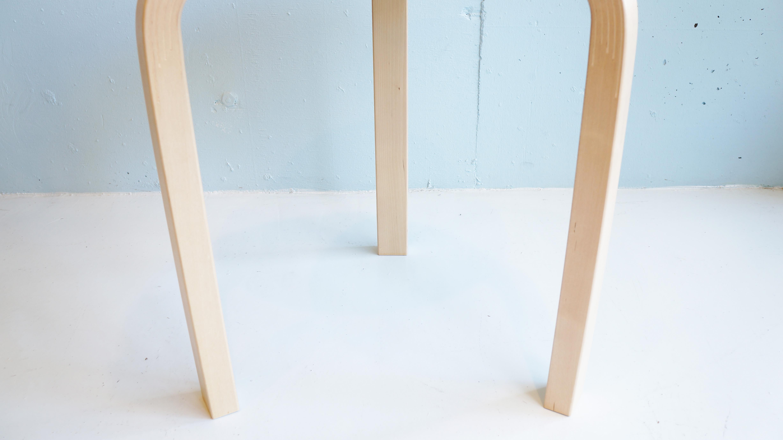 altek STOOL 60 LAMINATE WHITE design by Alvar Aalto / アルテック スツール60 ホワイト