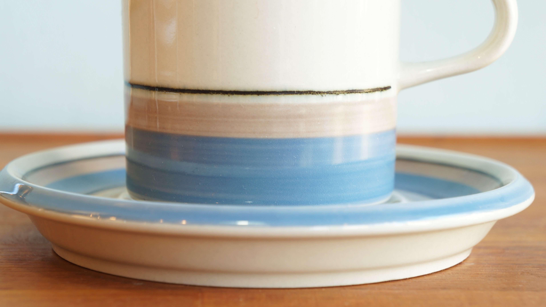 "ARABIA cup&saucer ""Uhtua"" S model"