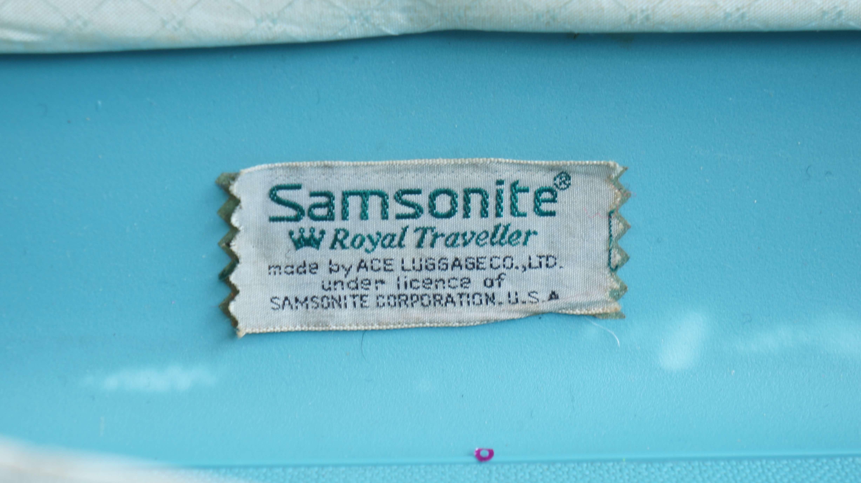 SAMSONITE 50s TRAVEL TRUNK CASE / サムソナイト トランクケース ミッドセンチュリー