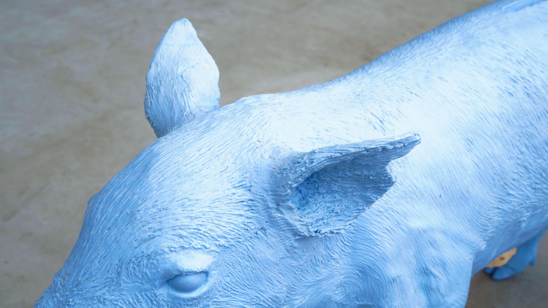 "Harry Allen design ""REALITY"" series ""Bank in the form of a pig""/ ハリー・アレン デザイン ""リアリティ""シリーズ ブタの貯金箱"