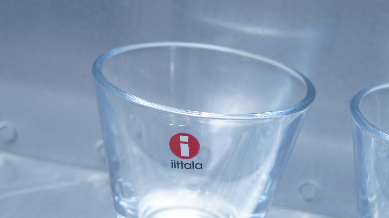 iittala kartio cordial grass clear / イッタラ カルティオ コーディアルグラス クリア