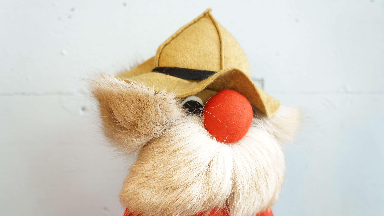 TE-RI PRODUCTS POLICE DOLL made in CANADA / カナダ製 トロント森林警備隊 マスコット フェルト 人形