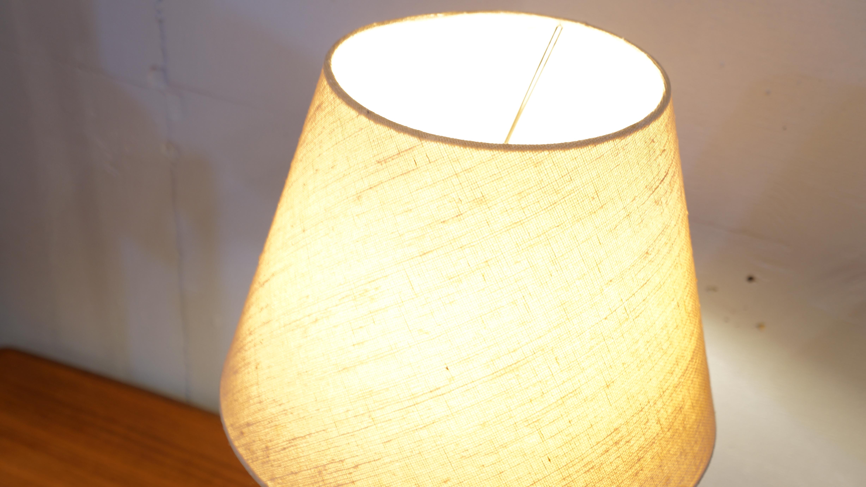 TEAK WOOD BED SIDE LUMP / ベッド サイド ランプ チーク材 北欧 スタイル