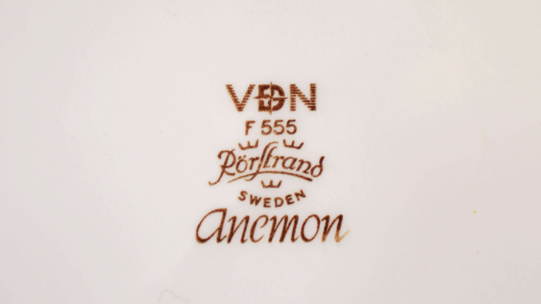 """Rorstrand """"Anemon"""" plate 24cm/ロールストランド """"アネモン"""" プレート24cm"""