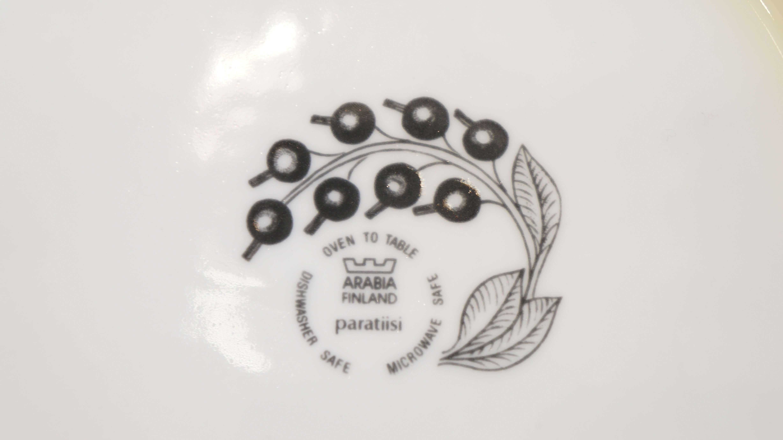 """ARABIA """"Paratiisi"""" plate 26cm color/アラビア """"パラティッシ"""" プレート 26cm カラー"""