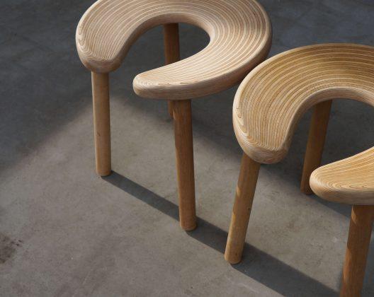 Antti Nurmesniemi Sauna Stool・北欧 サウナ スツール 椅子