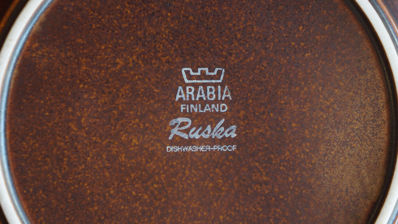 アラビアヴィンテージの代表格!「ARABIA Ruska」
