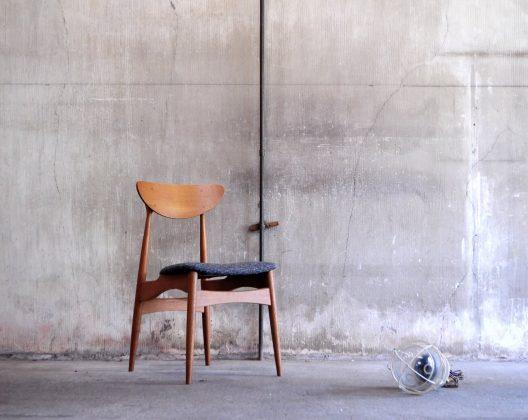 NAGANO INTERIOR Friendly Series Dining Chair DC326-1N REUPHOLSTERED /