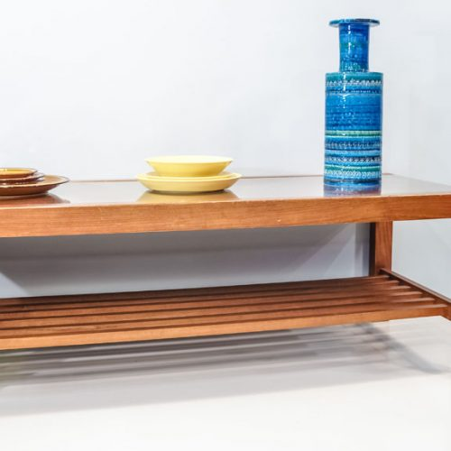 GLASSTOP LOW TABLE/ ガラストップテーブル