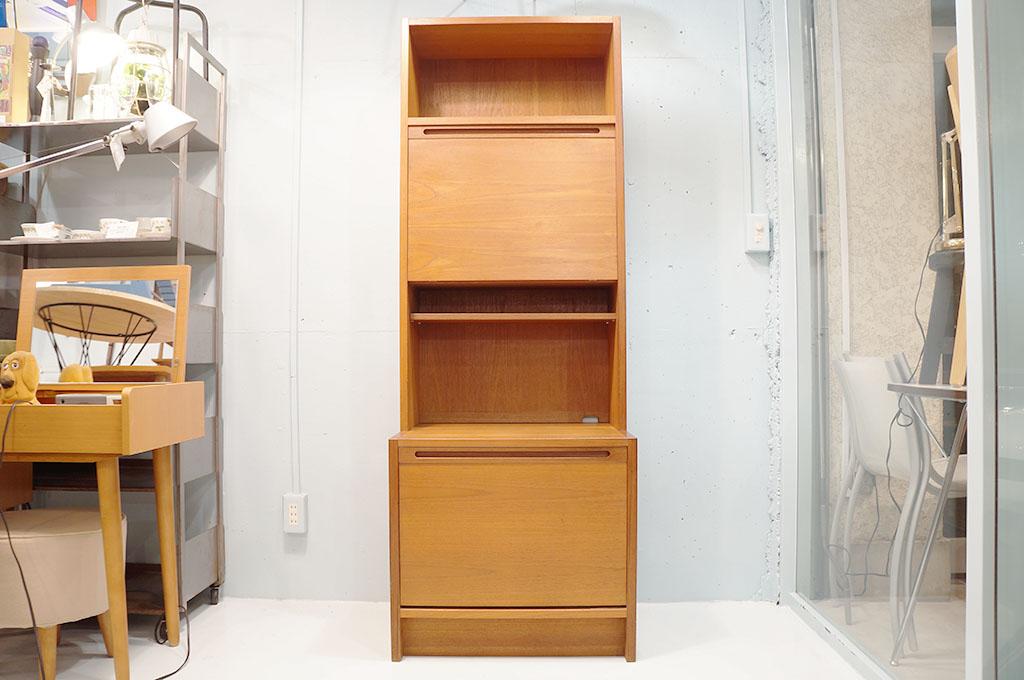 山品木工,食器棚,チーク,capbord,カップボード
