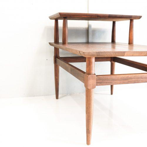 VINTAGE Teakwood Step Table/ヴィンテージ チーク ウッド ステップ テーブル