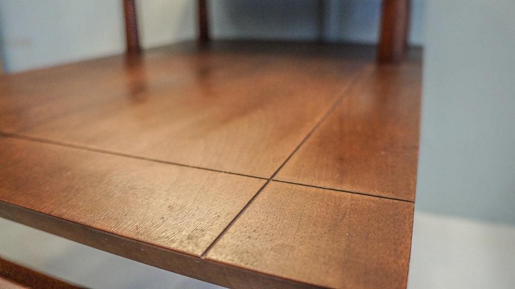 VINTAGE Teakwood Step Table