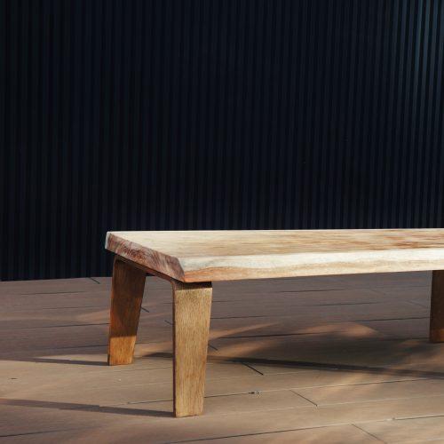 Natural Wood Low Table /天然木 無垢 一枚板 センターテーブル