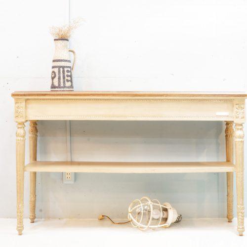 blanc d'ivoire console table  / ブランディボワール コンソールテーブル