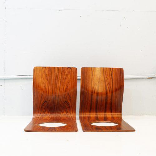 TENDO MOKKO ROSEWOOD LEGLESS CHAIR / 廃盤 天童木工 藤森健次デザイン 座イス ローズウッド