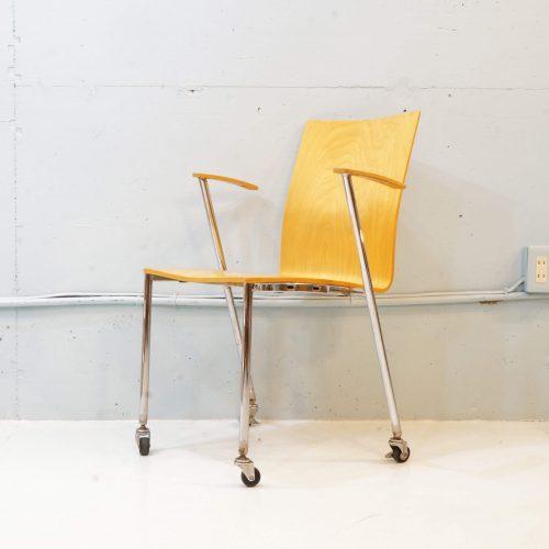 P.O.KORHONEN Oy Caster Arm Chair / コルホネン キャスター付き アームチェア
