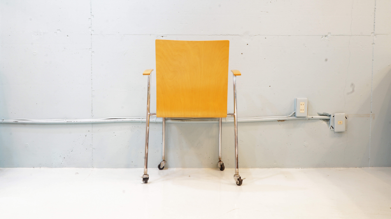 P.O.KORHONEN Caster Arm Chair