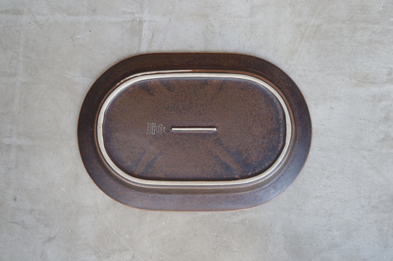 "ARABIA ""ruska""oval plate/アラビア""ルスカ""オーバルプレート"