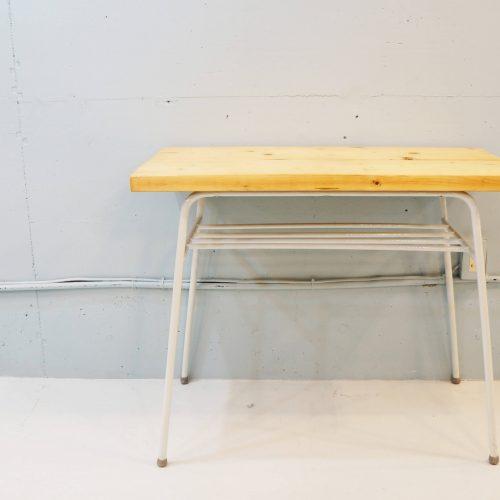 wood×iron Remake Table/無垢材 鉄足 リメイクテーブル