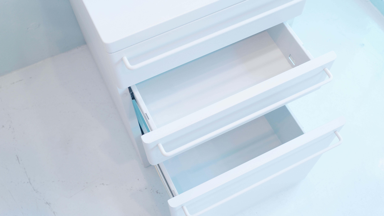 MUJI steel cabinet Light gray / 無印良品 スチールキャビネット