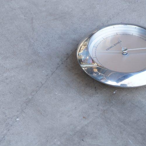 GEORG JENSEN VENUS CLOCK desgin by ANDREAS MIKKELSEN / ジョージジェンセン アンドレアミケルセン デザイン 置時計