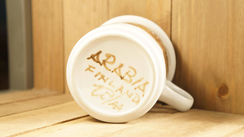 """ARABIA """"Rosmarin"""" cup&saucer/アラビア ロスマリン カップ&ソーサー"""