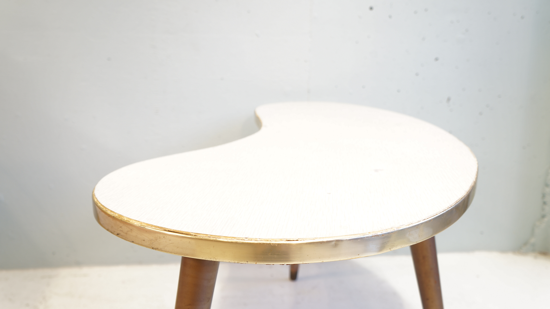 50's US vintage BEANS TABLE KIDNEY TABLE/1950年代 アメリカビンテージ ビーンステーブル キドニーテーブル