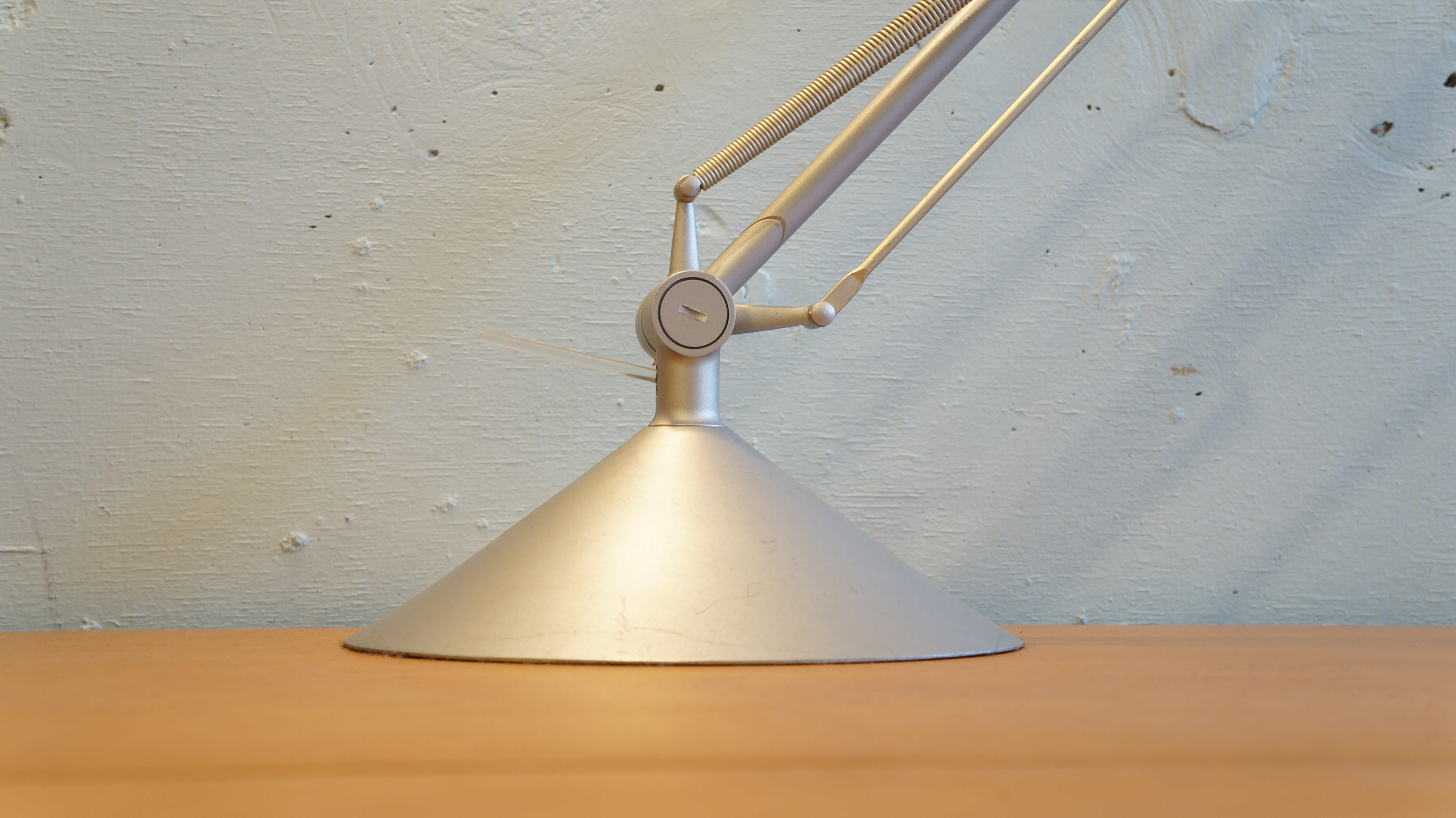 """FLOS desk light """"ARCHIMOON TECH"""" designed by Philippe Starck/フロス デスクライト アーキムーン テック フィリップ・スタルク デザイン"""