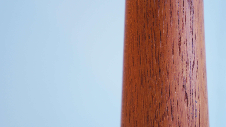 TEAK WOOD SIDE STAND TRAY DAMARK / チーク材 サイド スタンド トレー デンマーク 小物入れ