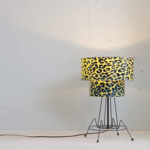 50`s US vintage 2tien Shade Table Lamp / 2段シェード テーブルランプ