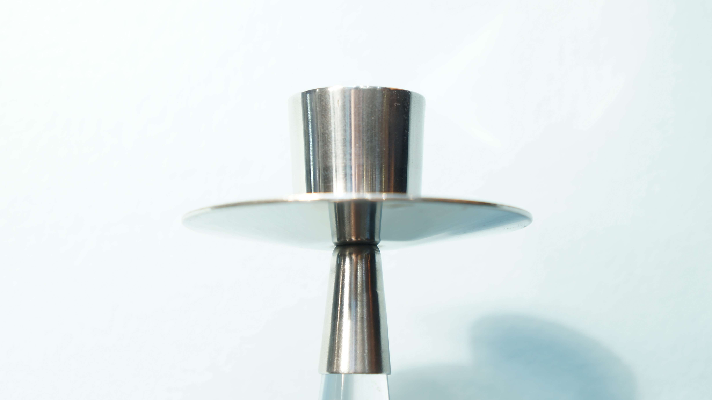 """iittala candle sticks """"ascot"""" designed by Timo Sarpaneva/イッタラ キャンドルスティック """"アスコット"""" ティモ・サルパネヴァ デザイン"""