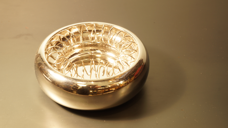 "ALESSI ""SPIRAL"" ash tray designed by Achille Castiglioni/アレッシィ スパイラル アッシュトレイ 灰皿 アッキレ・カスティオーニ デザイン"