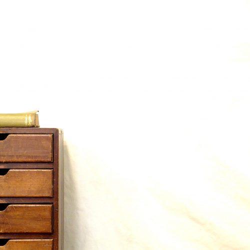 JAPAN RETRO SMALL DRAWER / 古い 5杯 小引出し アンティークスタイル レトロ 古道具