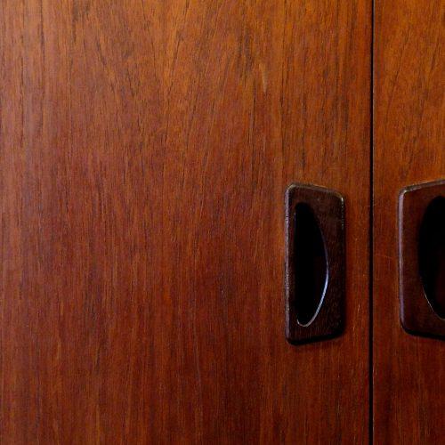Japan Vintage Teak Cabinet Scandinavian Style /  チーク材 キャビネット 北欧インテリア 収納