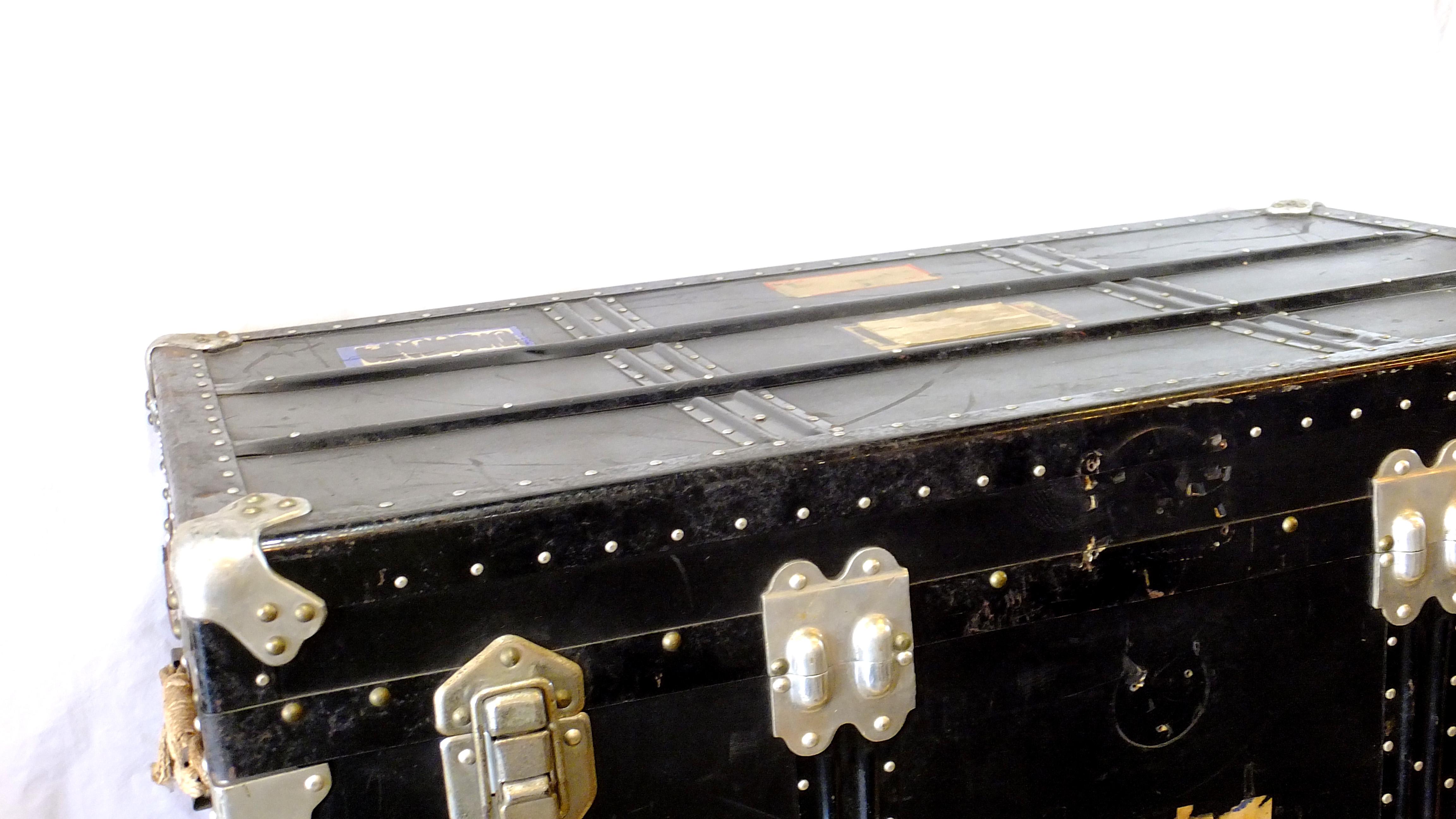 AMERICAN VINTAGE STYLE TRANSPORT BOX / ヴィンテージ トランク シャビー アメリカンスタイル
