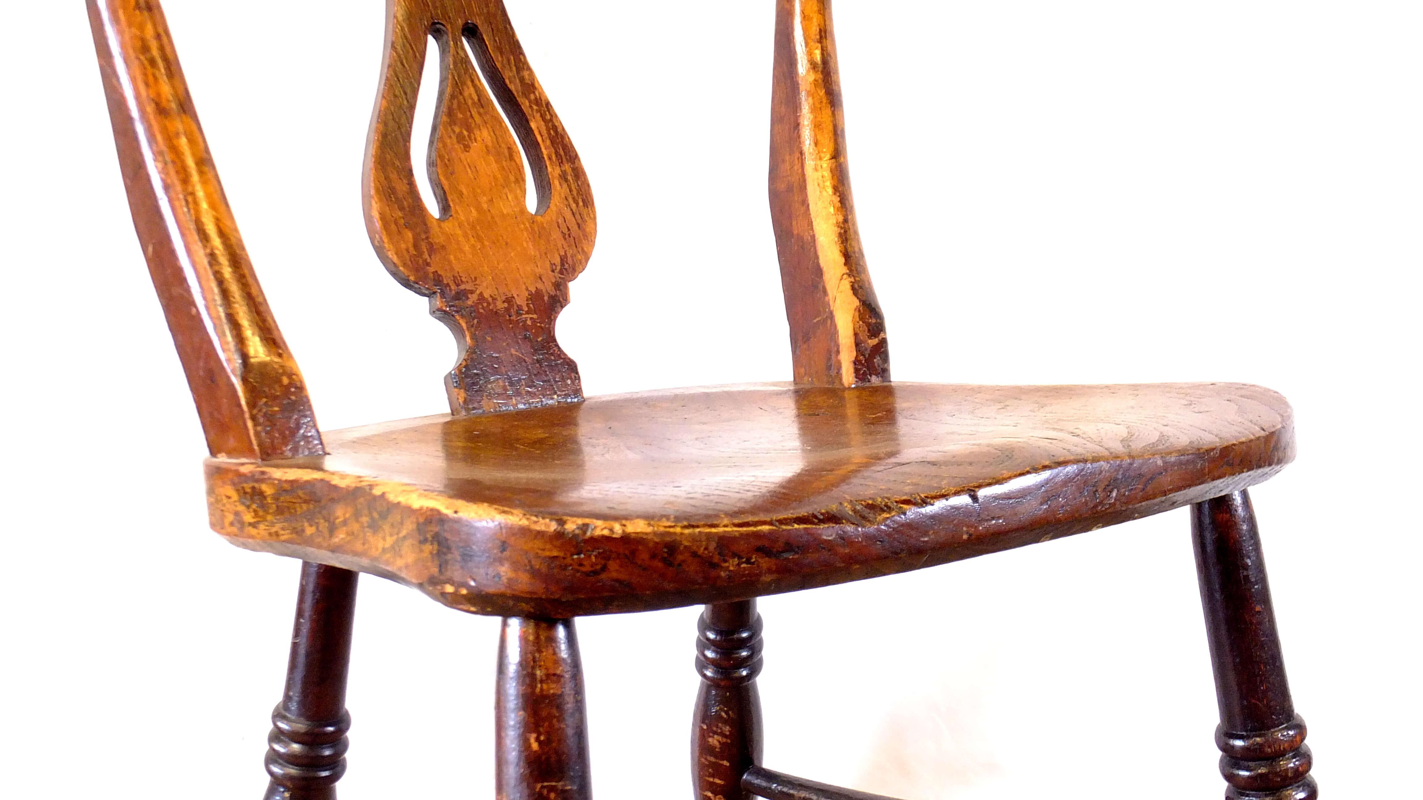 UK ANTIQUE GATE LEG TABLE & CHAIR / イギリス アンティーク 折りたたみテーブル・チェアセット