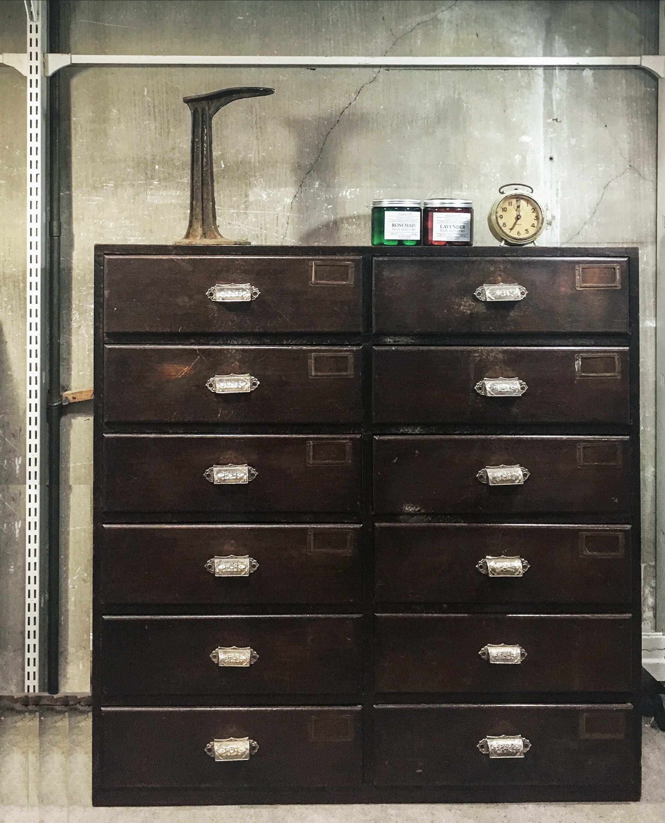 Antique Drawer Cabinet/ドロワー キャビネット/アンティーク チェスト