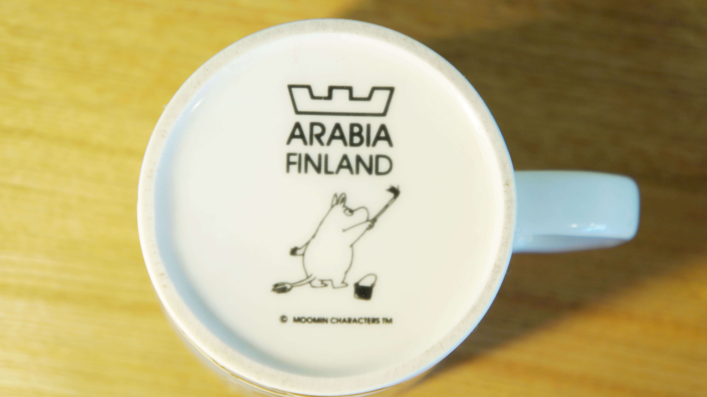 ARABIA FINLAND MOOMIN MAG&BOWL Snufkin / アラビアフィンランド ムーミンマグ&ボウル スナフキン
