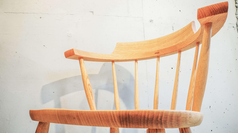 KASHIWA MOKKO CROWN CHAIR / 柏木工 クラウンチェア 飛騨家具