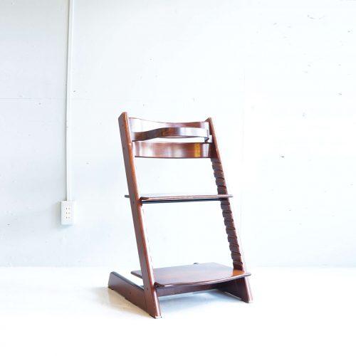 STOKKE TRIPP TRAPP CHAIR / ストッケ トリップ トラップ チェア ブラウン 曲木ガード付き