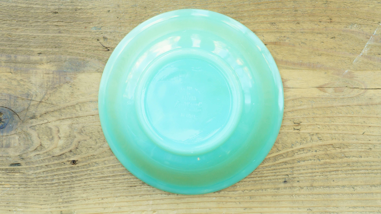 "fire-king ""Jane Ray"" cereal bowl Jade-ite/ファイヤーキング ジェーンレイ シリアルボウル ジェダイ"
