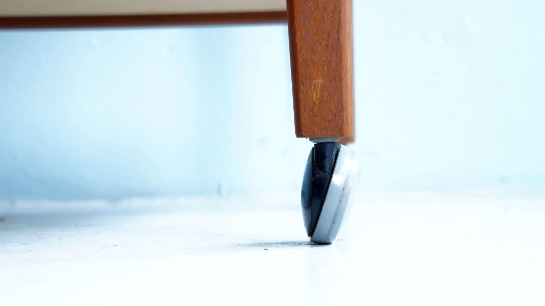 DANMARK MOBLER BRDR FURBO TILE TOP KITCHEN TROLLEY / デンマーク製 チーク タイルトップ キッチン ワゴン