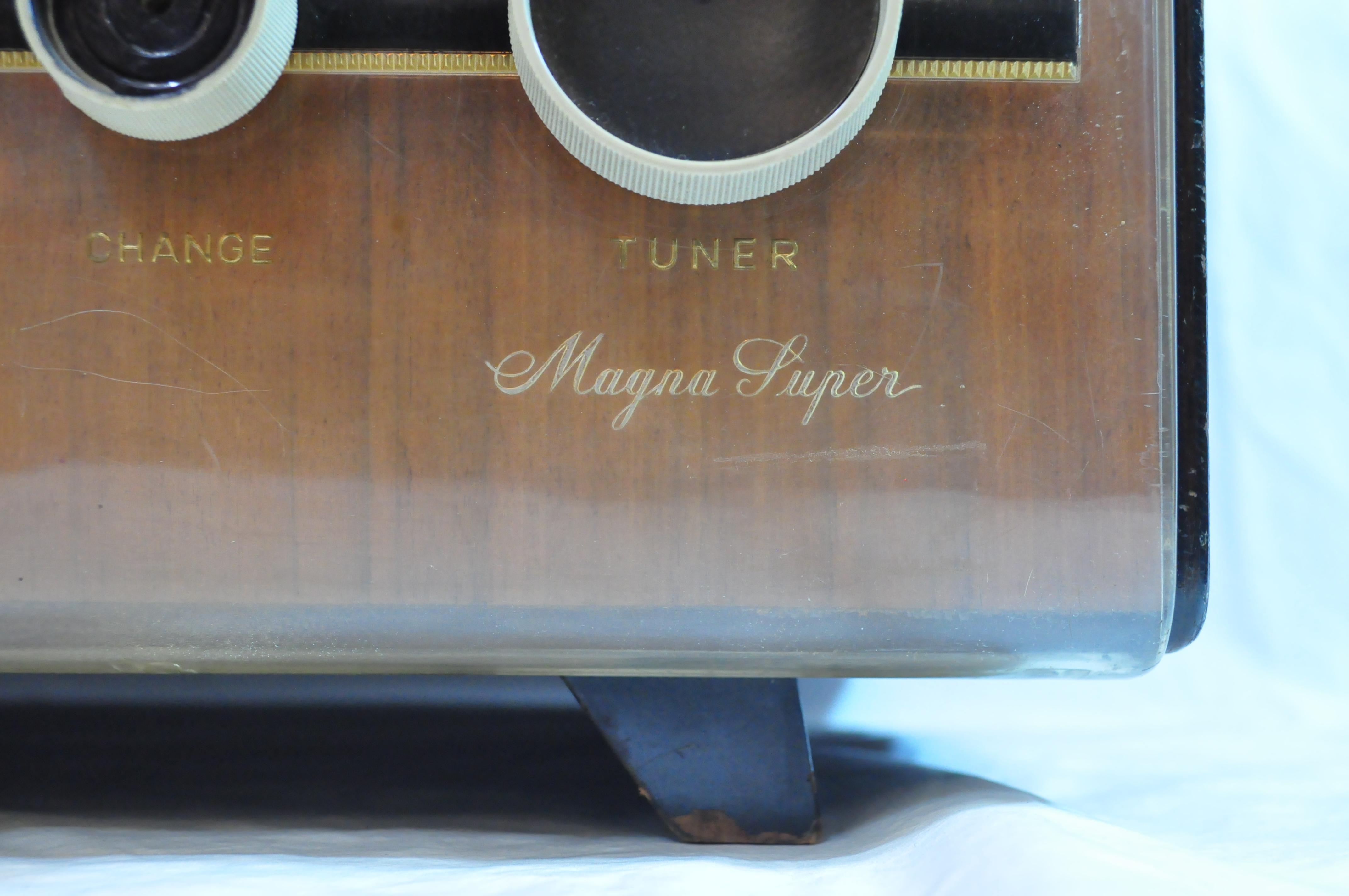 NATIONAL HI-FI RADIO CF-740 MAGNA SUPER / ナショナル ハイファイ レトロ 真空管 ラジオ