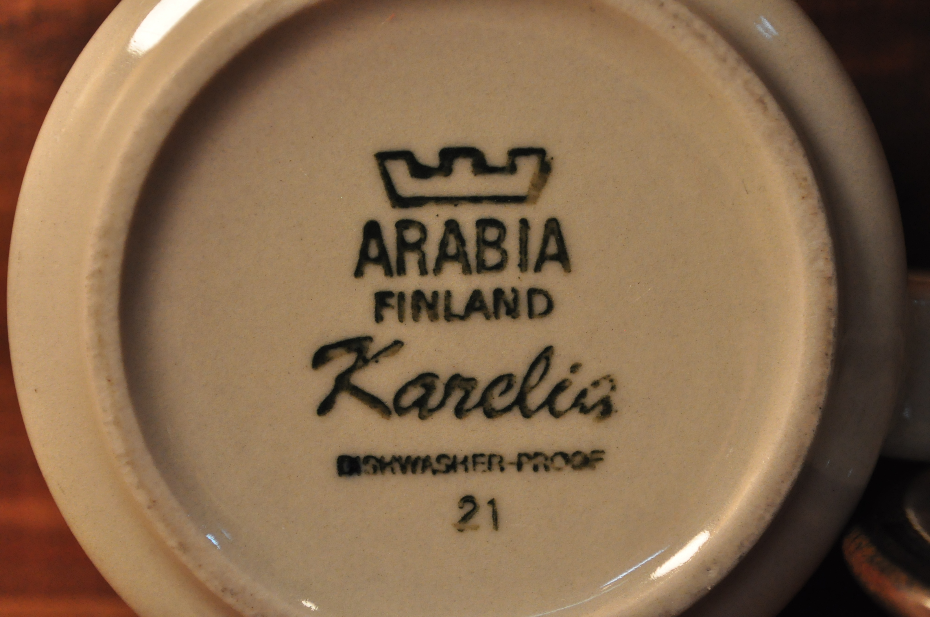 ARABIA KARELIA Cup&Saucer / アラビア カレリア カップ&ソーサー