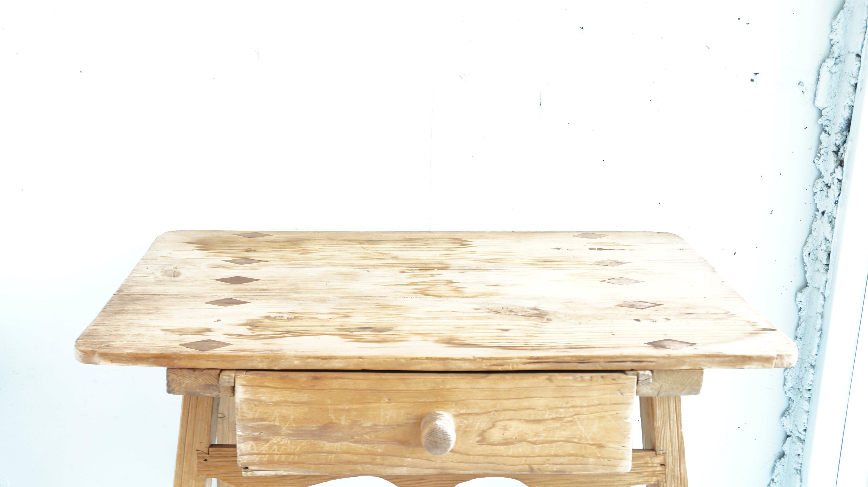 Antique Solid Wood Desk / アンティーク 木製 デスク 子供机