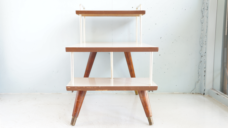 50's US Vintage Step Table/50年代 アメリカ ヴィンテージ ステップテーブル