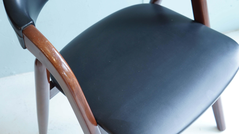 Japan Vintage TSUJI MOKKO Arm Chair / 辻木工 ダイニング アームチェア