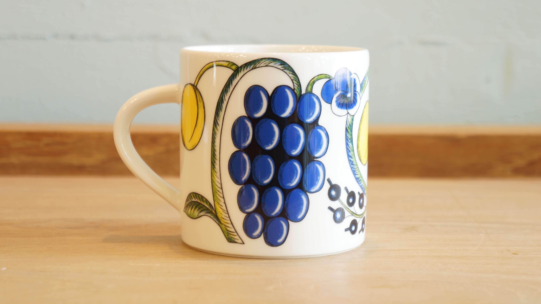 """ARABIA """"Paratiisi"""" mug cup 350ml color/アラビア """"パラティッシ"""" マグカップ 350ml カラー"""